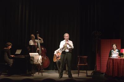 Souvenirs Jazz de Bego Sinardt : jazz et café-théâtre avec les HotFour à Grenoble