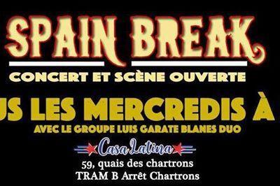 Spain Break Scène Ouverte à Bordeaux