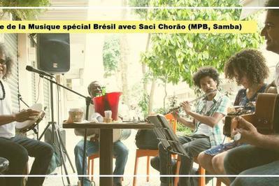 Spécial Brésil Avec Saci Chorão (mpb, Roda De Samba) à Paris 2ème