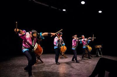 Spectacle De Tambours Japonais, Taiko, Art De Vibration Et De Joie à Paris 11ème