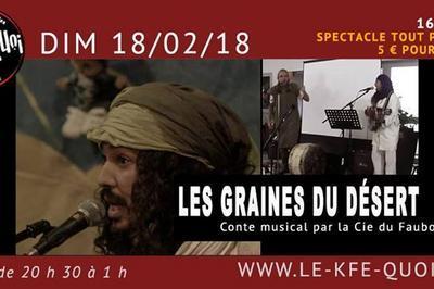 Spectacle Les Graines Du Desert à Forcalquier