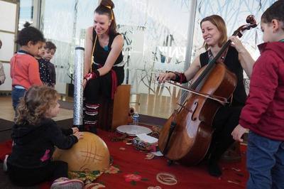 Spectacle musical : petits pas voyageurs, jeune public à Artigues Pres Bordeaux