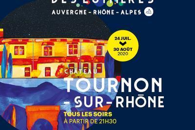 Spectacle son et lumière à Tournon sur Rhone