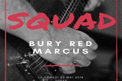 Squad - Bury red Marcus à Amiens