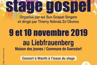 Stage Gospel à Goersdorf