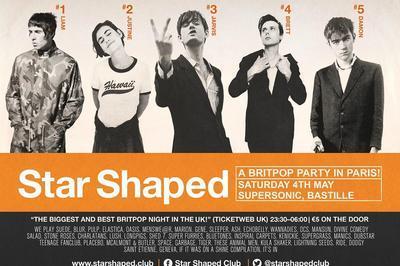 Star Shaped Club Paris - Britpop Party  à Paris 12ème