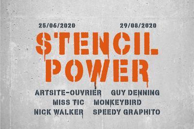 Stencil power à Paris 3ème
