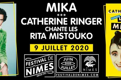 Catherine Ringer et Mika à Nimes