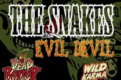 Stomping N°11 J1 : The Snakes + Evil Devil + Dead Bollox + Wild Karma + DJ à Saint Jean de Vedas