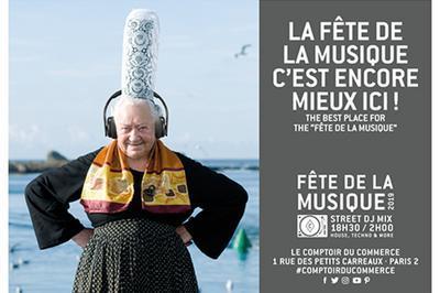 Street Dj Mix Montorgueil à Paris 2ème