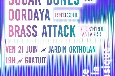 Sugar Bones [soul] / Oordaya [r&b Soul] / Brass Attack [rock'n'roll Fanfarrr] à Auch