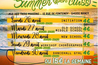 Summer Open Class 2019 avec GoodToGo Dancehall à Nancy