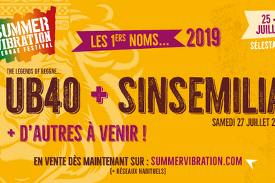 Summer Vibration Reggae #6 - Vendredi à Selestat
