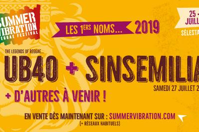 Summer Vibration Reggae Festival #6 Pass 3jrs et Camping à Selestat