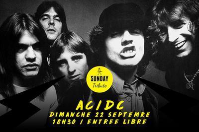 Sunday Tribute - AC/DC à Paris 12ème