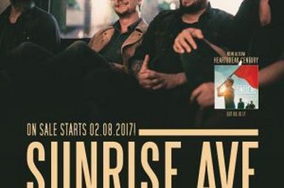 Sunrise Avenue à Paris 9ème