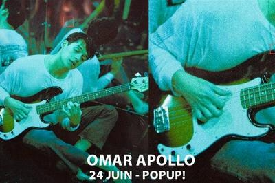 Super! - Omar Apollo à Paris 12ème
