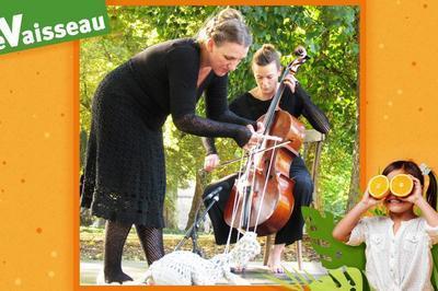 Sur le fil : Lez'arts d'été dans le jardin à Strasbourg