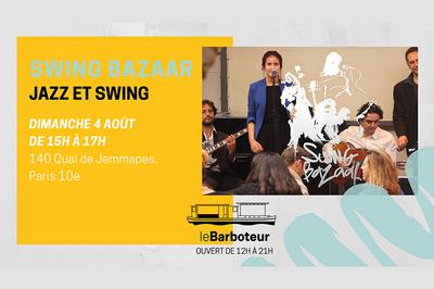 Swing Bazaar // Jazz & Swing Au Bord Du Canal à Paris 10ème