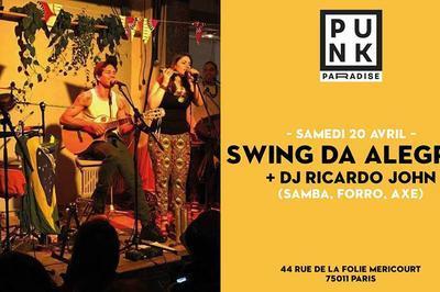Swing Da Alegria + Dj Ricardo John à Paris 11ème