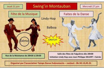 Swing'in Montauban (Fête de la musique 2018)