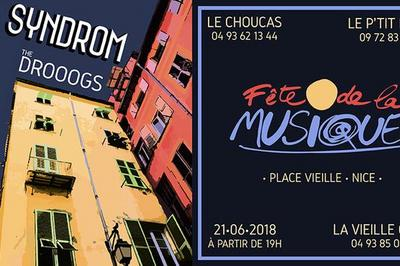 Syndrom Et The Drooogs à Nice