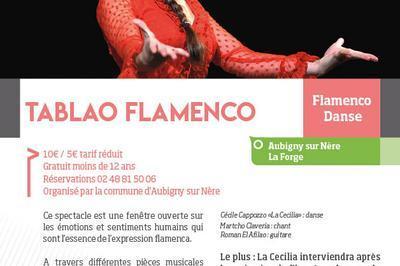 Tablao Flamenco à Aubigny sur Nere