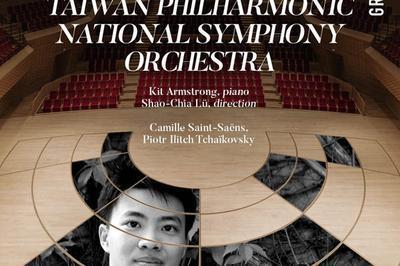 Taiwan Philharmonic - Kit Armstrong à Boulogne Billancourt