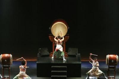 Tambours Taikos  / Eitetsu Hayashi Et L'Ensemble Eitetsu Fu-Un No Kai à Paris 19ème