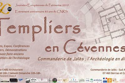 Templiers En Cévennes! Visite Libre De La Commanderie à Berrias et Casteljau