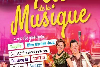Ben Aqui - Le Son du Bastion (Fête de la Musique 2018) à Sainte Maxime