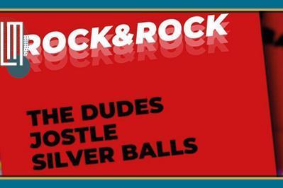 The Dudes + Jostle + Silverballs (rock) Puis DJ Set éclectique By DJ Clairon à Marseille