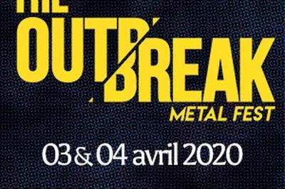 The Outbreak - Metal Fest Pass 2 jours à Blois