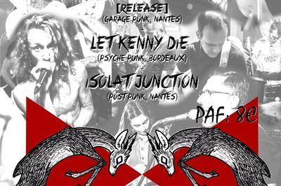 The Psychotic Unicorns, Let Kenny Die et Isolat Junction à Nantes
