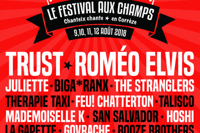 Therapie Taxi, Romeo Elvis et Biga*Ranx à Chanteix