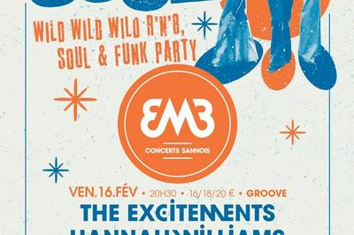 """this Is Soul!"" The Excitements Es Et Hannah Williams & The Affirmations Gb+ Tanika Charles Ca à Sannois"