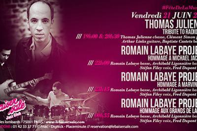 Thomas Julienne « Tribute To Radiohead » / Romain Labaye à Paris 1er