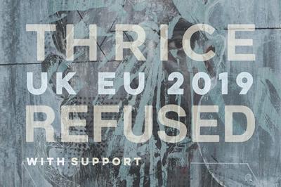Thrice + Refused à Paris 18ème