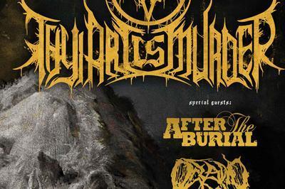 Thy Art Is Murder+After The Burial+ à Villeurbanne
