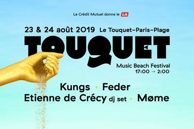 Touquet Music Beach Festival 2019 Pass 1J à Le Touquet Paris Plage