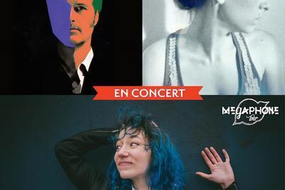 Tournée #2 Sud-Ouest du Mégaphone Tour avec Camille Hardouin • Massy Inc. • Gisèle Pape à Chauvigny