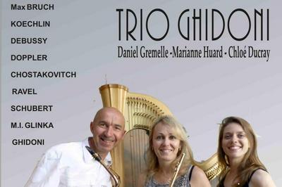 Trio Ghidoni à Tours en Vimeu