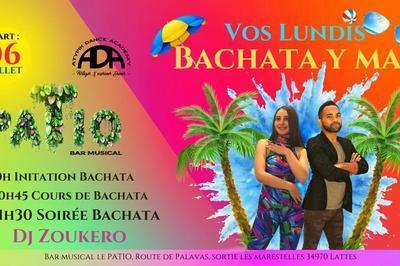 Tous Les Lundis   Bachata Y Mas   Initiation Danse & Soirée Dj à Lattes