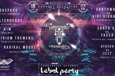 Transubtil Label Party à Marseille