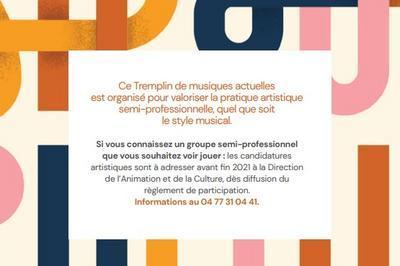 Tremplin de  musiques actuelles à Saint Chamond