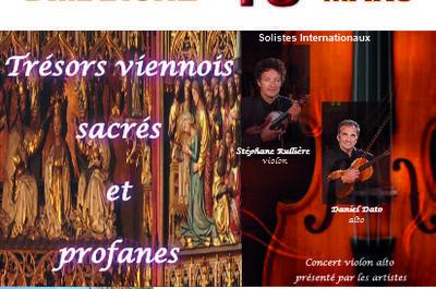 Trésors Viennois sacrés et profanes à Palaiseau
