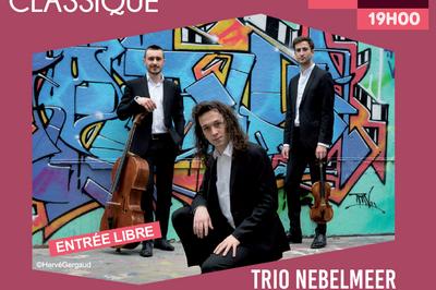 Trio Nebelmeer Et Le Romantisme Français à Tremblay en France
