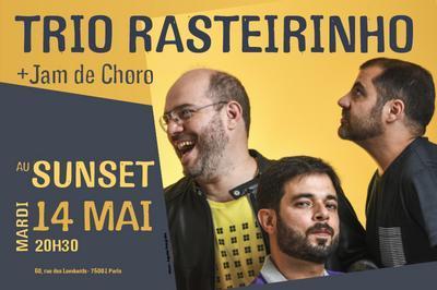 Trio Rasteirinho & Jam de choro à Paris 1er