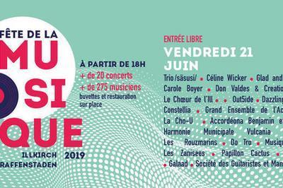Trio /sãsusi/ / Céline Wicker / Glad And The Mox / Carole Boyer / Don Valdes & Creation Sound à Illkirch Graffenstaden