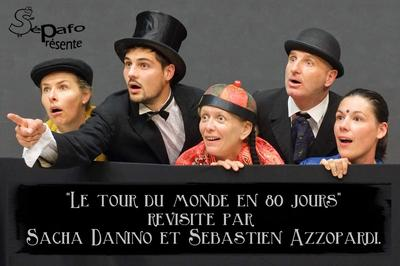 Comédie théâtre Le tour du monde en 80 jours à Angers